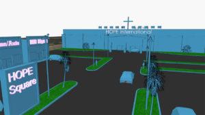H.O.P.E. International (Building render)