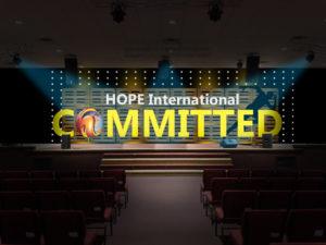 H.O.P.E. International (After stage design)