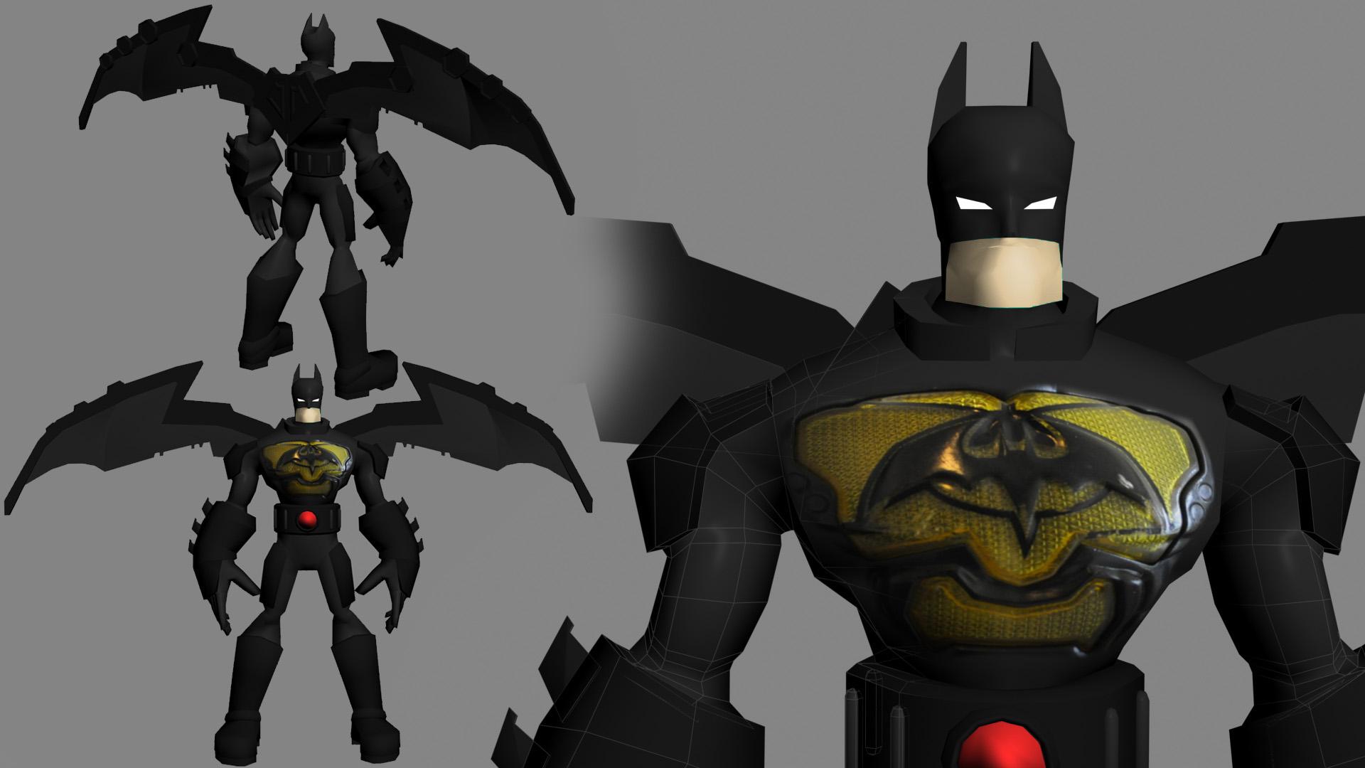 batman-3d-model